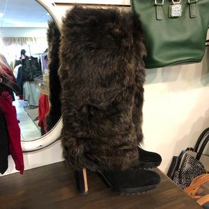Ugg Faux Fur Boot Size 9